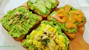 Avocado toast. Ricette con avocado