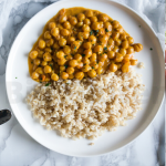 Curry di ceci vegan